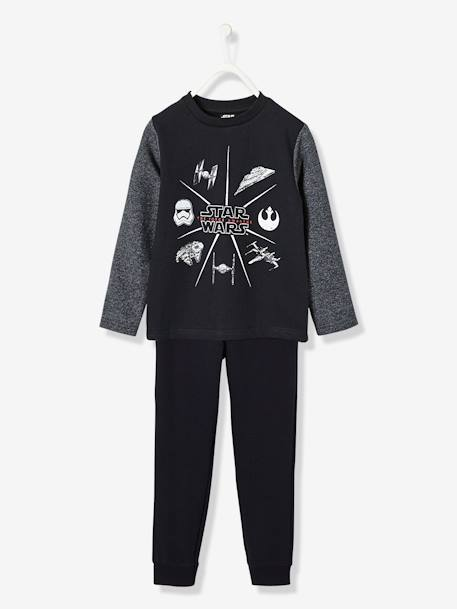 Boys' Sports Set, Star Wars® Theme BLACK MEDIUM SOLID WITH DESIGN - vertbaudet enfant