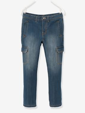 Boys-Jeans-Boys' Indestructible Straight Cut Denim Trousers