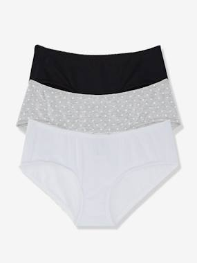 Future Maman-Lingerie-Culotte, shorty-Lot de 3 shorties de grossesse imprimés