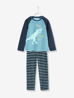 Boys-Nightwear-Boys' Velour Pyjamas