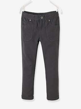 Megashop-Boys' Indestructible Straight Cut Trousers