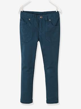 Vertbaudet - Trousers girls boys and babys-Boys' Indestructible Straight Cut Trousers