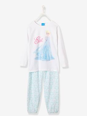 Girls-Nightwear-Girls' Pyjamas with Elsa Motif, Frozen® Theme