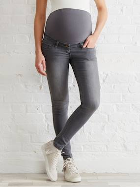 Collection Autumn-Winter-Maternity Slim Strech Jeans - Inside Leg 33""
