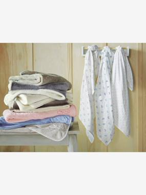 Bedding & Decor-Baby Bedding-Blankets & Bedspreads-Microfibre Blanket with Sheepskin Lining