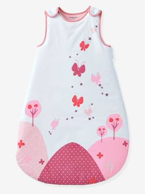 Bedding-Baby Bedding-Sleepbags-Sleeveless Sleep Bag, Butterfly Theme