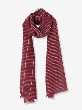 Boy-Accessories -Boys' Striped-Effect Scarf