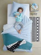 Children's Duvet Cover & Pillowcase Set, Chevron/Triangles  - vertbaudet enfant