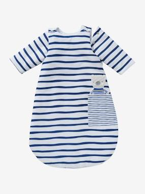 Vertbaudet Sale-Bedding-Long-Sleeved Baby Sleep Bag, Fun Sailor Theme
