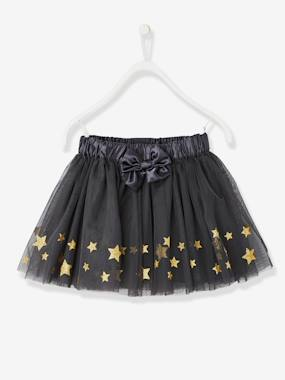 Girls-Girls' Skirt with Stars & Glitter
