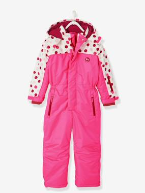 Vertbaudet Sale-Girls-Coats & Jackets-Girls' Ski Jumpsuit