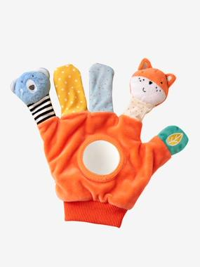 Toys-Stimulating Games & Rattles-Puppet-Glove with Activities