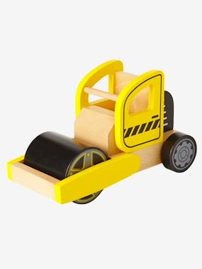 Toys-Playsets-Wooden Steamroller