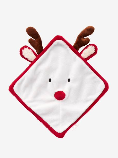 Christmas Reindeer Toy RED LIGHT SOLID - vertbaudet enfant