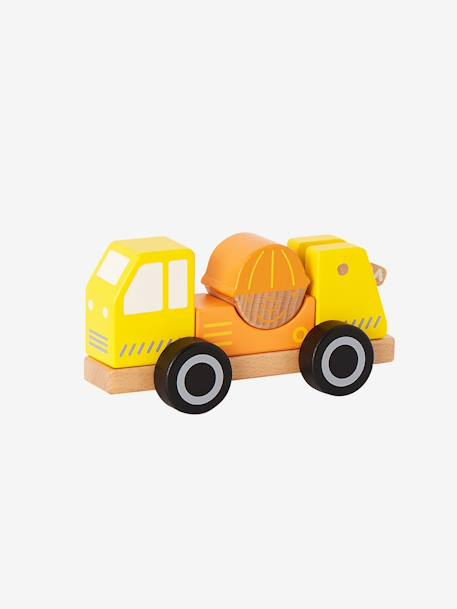 Baby's Truck-Mounted Crane YELLOW MEDIUM SOLID WTH DESIGN - vertbaudet enfant