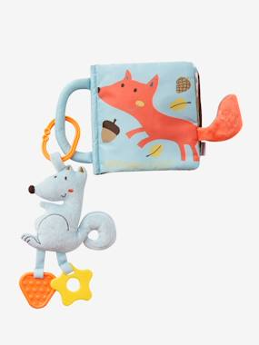 Toys-Activity Book & Soft Squirrel with Teethers