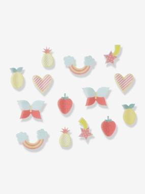 Decoration-Pack of 14 3-D Decorations