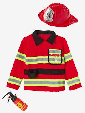 Toys-Dress Up-Fire-fighter Costume
