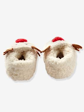 Shoes-Baby Footwear-Slippers & Booties-Faux Fur Slippers