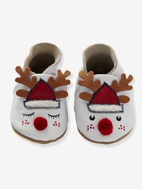 Shoes-Baby Footwear-Baby Slippers in Soft Leather
