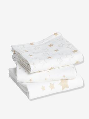Nursery-Changing Mats-Pack of 3 Nappies