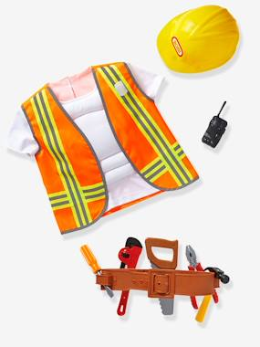 Vertbaudet Sale-Toys-Builder's Costume with Accessories