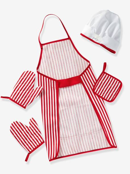 Kitchen Accessories RED MEDIUM SOLID WITH DESIG - vertbaudet enfant