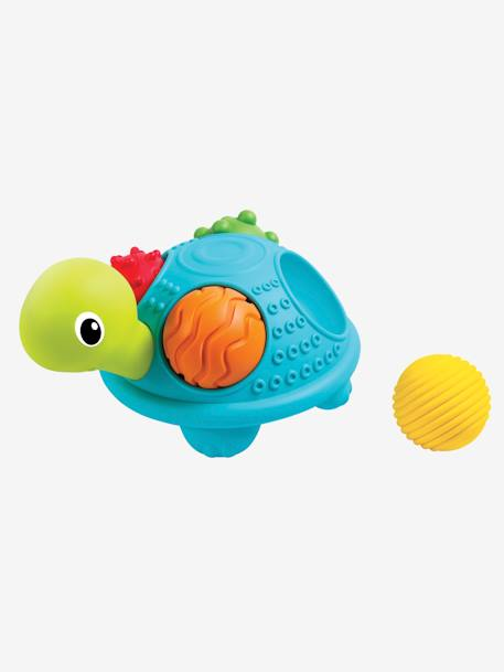 Turtle & Sensory Balls, Bluebox GREEN MEDIUM SOLID WITH DESIG - vertbaudet enfant