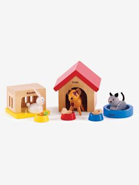 Toys-Playsets-HAPE Wooden Pets