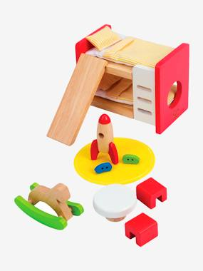 Toys-Playsets-Children's Wooden Bedroom, by HAPE
