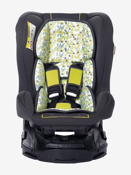Swivel Car Seat >> Vertbaudet Rotasit Swivel Car Seat Group 0 1 Green Bright All Over Printed