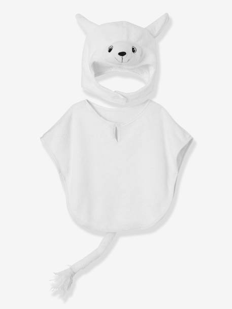 Children's Sheep Costume WHITE LIGHT SOLID WITH DESIGN - vertbaudet enfant