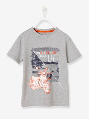 Boys-Tops-Boys' Printed T-Shirt