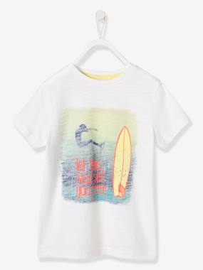 Mid season sale-Boys' T-Shirt, Surf Photoprint