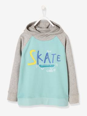 skate-Boys' Hooded Sweatshirt
