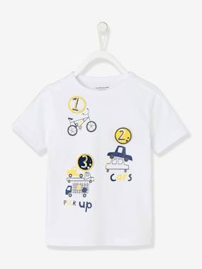 Boys-Tops-T-Shirts-Boys' Top with Detachable Patches