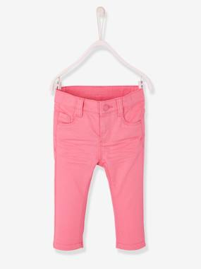 Trousers-Baby-Baby Girls' Slim Fit Trousers