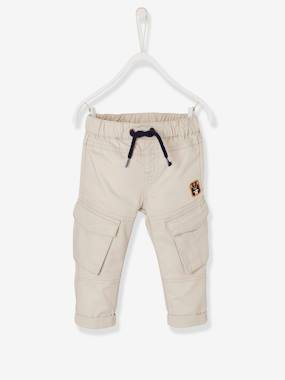 Baby-Trousers & Jeans-Baby Boys' Baggy Trousers