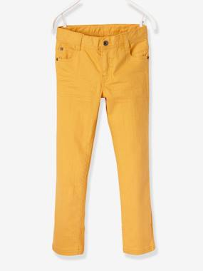 Vertbaudet Collection-Boys-MEDIUM Fit - Boys' Slim Cut Trousers