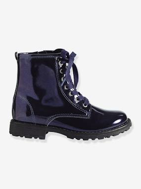 Vertbaudet Sale-Shoes-Girls' Lace-Up Ankle Boots