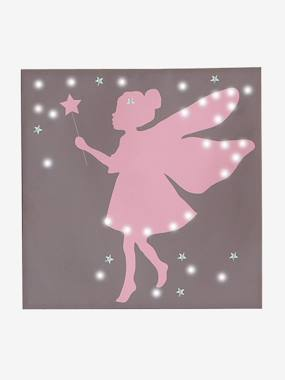 Decoration-Fairy Light-Up Canvas