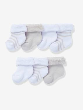Happy Price collection-Newborn Baby Pack of 7 Pure Cotton Bootees