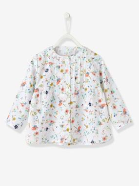 Vertbaudet Sale-Baby-Baby Girls' Blouse