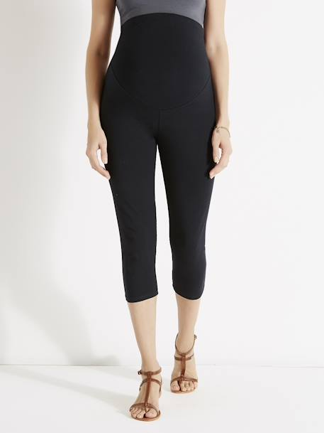 Short Maternity Leggings Black - vertbaudet enfant