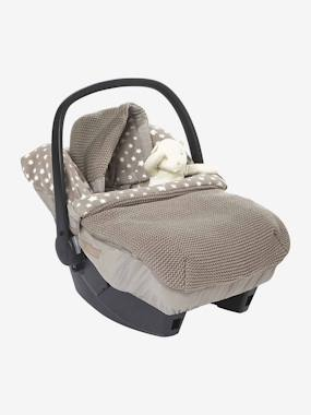 New Collection Fall Winter - Vertbaudet | Quality French Clothes for Babies & Children-Star Printed Knit  Footmuff for Car Seats