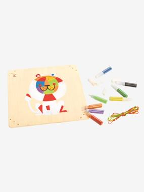 Toys-Creative Play-Coloured Sand Lion Art Kit