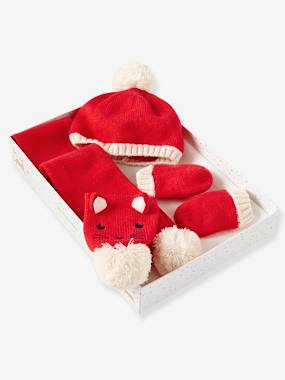 Outlet-Baby-Boys' Beanie & Scarf & Mittens Set