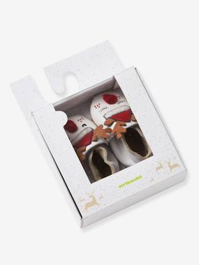 Shoes-Baby Footwear-Newborn-Baby Slippers in Soft Leather