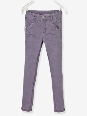 Fille-Pantalon-Pantalon slim fille tour de hanches LARGE morphologik