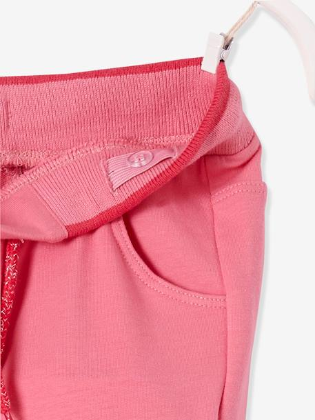 Pantalon fille en molleton Collection Maternelle Marine+Rose - vertbaudet enfant